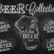 Names of different types of beer — Image vectorielle