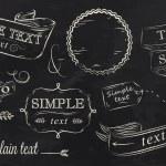 Chalk design elements — Stock Vector #29786421