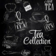 Set of tea collection — Stock Vector #29786701
