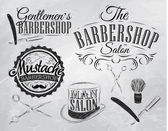 Set Barbershop — Stock Vector