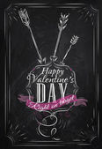 Valentine's Day lettering collection — Stock Vector