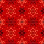 Fondo transparente de navidad con copos de nieve — Vector de stock