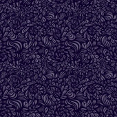 Fantasy abstract floral seamless pattern — Stock Vector