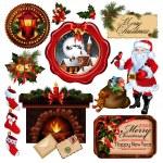 Christmas collection — Stock Vector