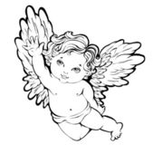 Angel — Vetorial Stock
