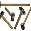 Stock Photo: Sledge Hammers