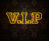 VIP sign II — Stock Photo