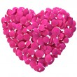 Rose Petal Heart — Stock Photo #39759751