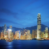 Hong Kong - Victoria Harbor — Stock Photo
