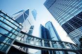 Skyscrapesr en hong kong — Foto de Stock