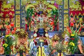 Taoist temple in Taipei - Taiwan. — Stock Photo