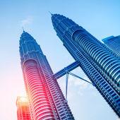 ペトロナス タワー、クアラルンプール - マレーシア. — ストック写真