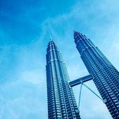 Twin Towers, Kuala Lumpur - Malaysia. — Stock Photo