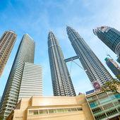 Twin Towers, Kuala Lumpur - Malaysia — Stock Photo