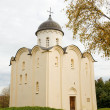Church of St. George. Fortress Old Ladoga, Russia - 图库照片