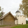 Church of St. George. Fortress Old Ladoga, Russia — Stock Photo