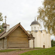 Church of St. George. Fortress Old Ladoga, Russia - Foto de Stock