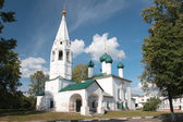 The ancient Church of St. Nicholas Chopped in Yaroslavl, Russia — Stock Photo