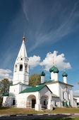 The ancient Church of St. Nicholas Chopped in Yaroslavl, Russia — Stock Photo
