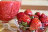 Strawberry Bowl — Stock Photo