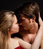 Sexy mladý pár — Stock fotografie