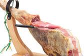 Spanish ham. Jamon Serrano — Stock Photo