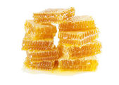 Honeycombs isolated on a white background — Stock Photo
