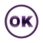 Ok sign — Stock Photo