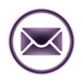 SMS icon — Stock Photo