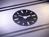 Clock sign — Stock Photo