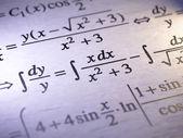 数学 — 图库照片