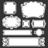 Decorative frames — Stock Vector