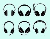 Headphones — Vecteur