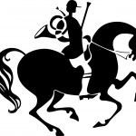 Horseman — Stock Vector