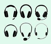 耳机 — 图库矢量图片