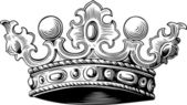 Valuable crown — Vettoriale Stock