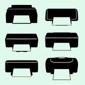 Принтеры — Cтоковый вектор