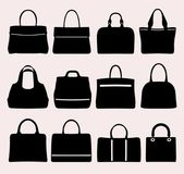 Set of different bags — Stock Vector