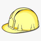 Construction helmet — Stock Vector