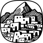 Mountain village — Stock Vector #15711501