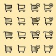 Shopping carts — Stock Vector #15711605