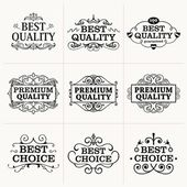 Premium Quality collection — Stock Vector