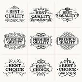коллекция премиум качества — Cтоковый вектор