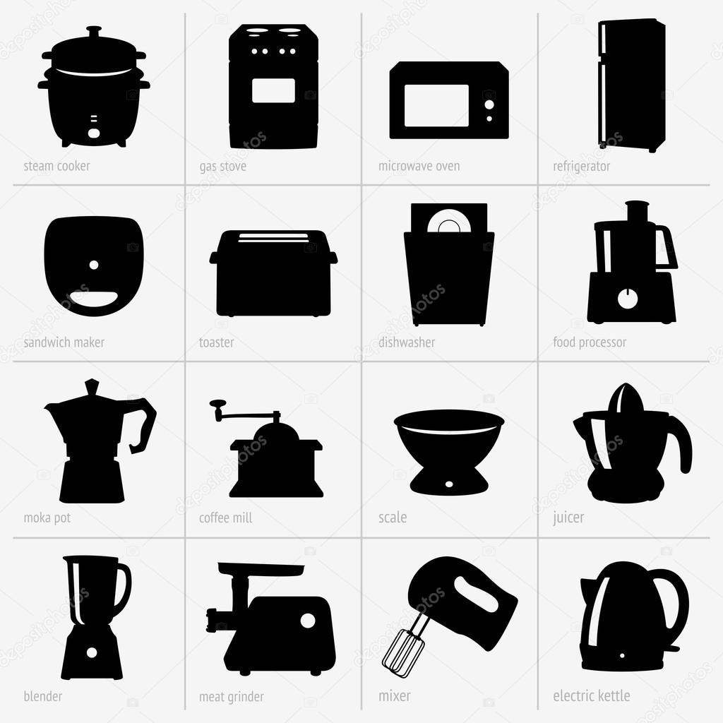 Utensilios de cocina vector de stock den barbulat for Empresas de utensilios de cocina