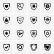 Protection icons - Stock Vector