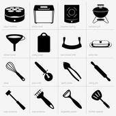 Kitchenware (part 3) — Stock Vector