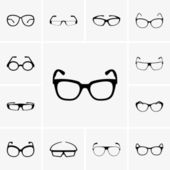 Gafas — Vector de stock