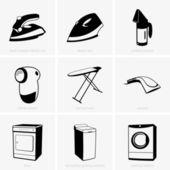 čisticí nástroje — Stock vektor