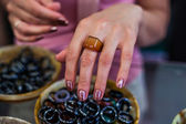 Wide choice of rings — Stock Photo