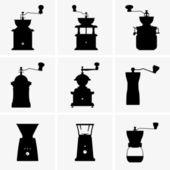 Młynki do kawy — Wektor stockowy